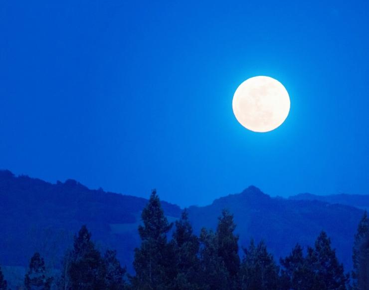 a june super moon