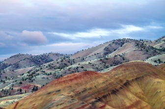 Painted Hills and Storm Colors