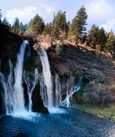 Beautiful-Burney-Falls