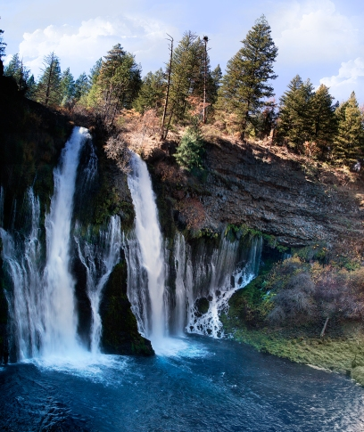 Beautiful-Burney-Falls