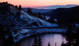 November-Sunset-Glow-Lassen-NP-2