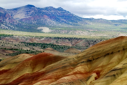 Spring at the Painted Hills