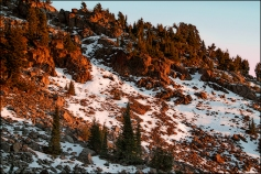 Sunset-Lassen-National-Park