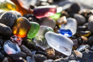 Macro-Glass-Beach
